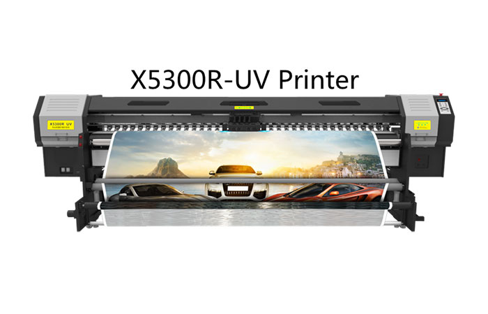 Máy in uv cuộn X5300R UV Printer