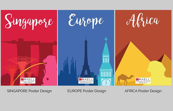 Nếu như băng rôn không cần thiết kế cầu kỳ thì poster để ý tới thiết kế nhiều hơn