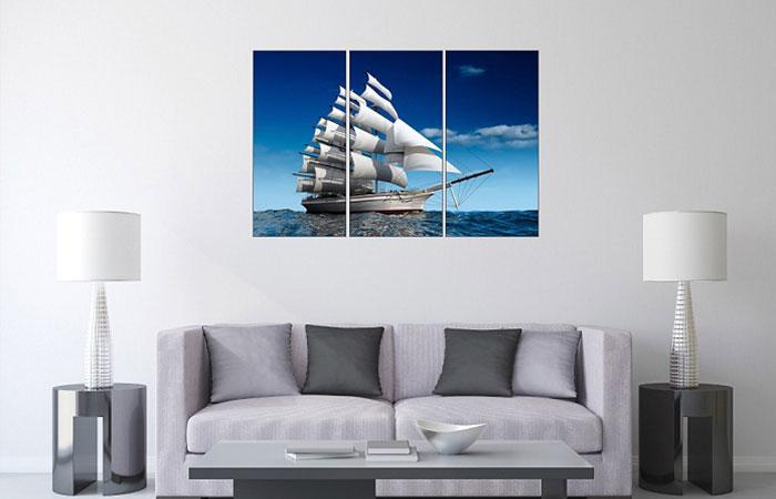 Mẫu tranh treo tường thuận buồm xuôi gió