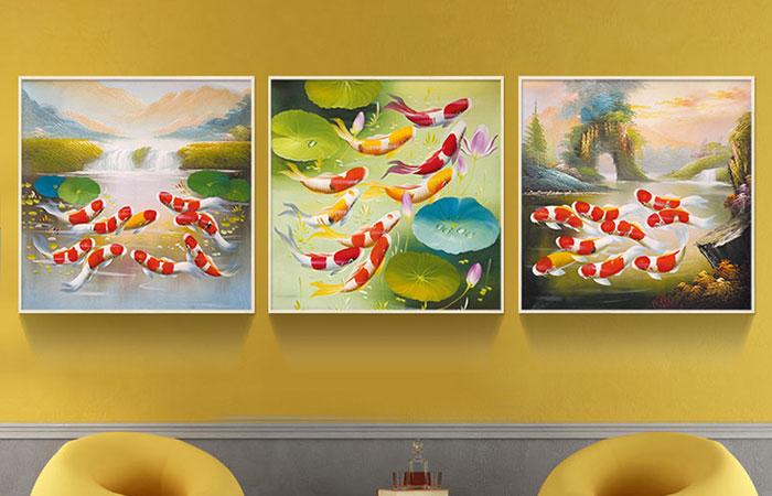 Theo thống kê đã chứng mình, in tranh canvas có độ bền khoảng 5 năm nếu để trong nhà