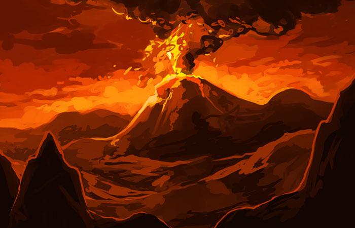 ảnh phong thủy mệnh hỏa