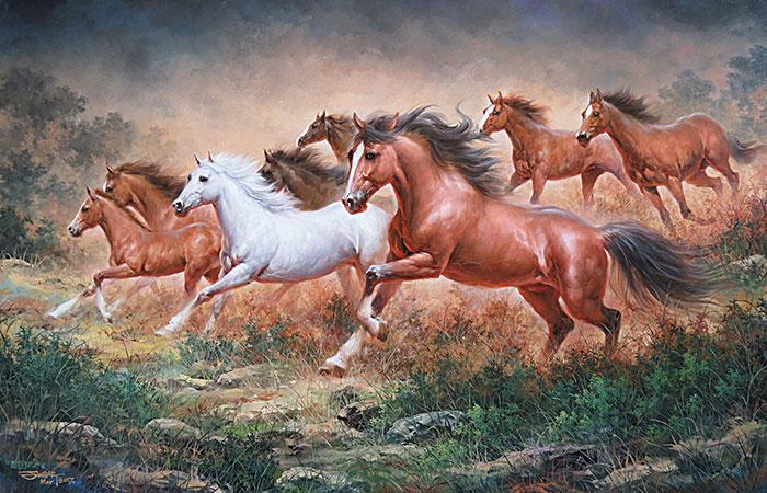 tuổi dần có treo tranh ngựa được không