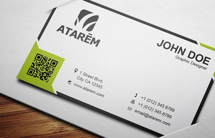 Những thông tin cơ bản cần có trên name card