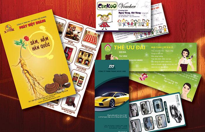 Tờ rơi đóng vai trò tích cực trong hoạt động quảng bá, kinh doanh của doanh nghiệp